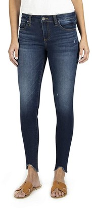 KUT from the Kloth Connie Ankle Skinny with Step Fray Hem in Taste (Taste) Women's Jeans