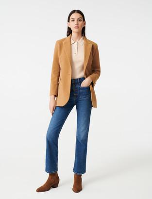 Maje Velvet-style jacket