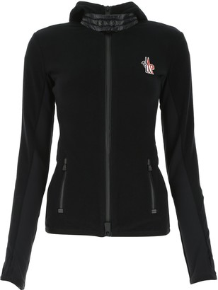 MONCLER GRENOBLE Logo Detail Zipped Jacket