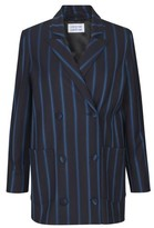 Libertine-Libertine Shift Blazer Navy Stripe - S