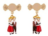Les Nereides Once Upon A Time Miniatures Of Hansel And Gretel Earrings.