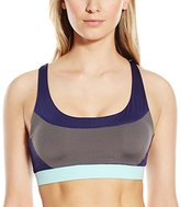 Flex Women's Wirefree Sports Bra with Keyhole Racerback Detail