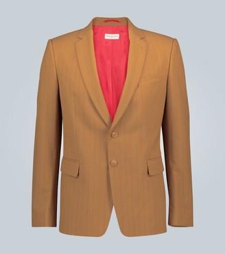 Dries Van Noten Pinstriped single-breasted blazer