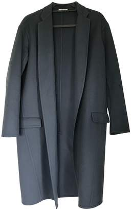Celine Blue Cashmere Coat for Women