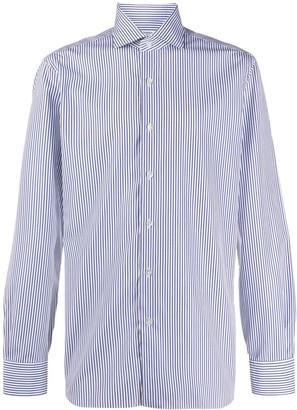 Barba Culto striped long-sleeve shirt