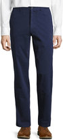 Bobby Jones Stretch Twill Brushed Straight-Leg Pants
