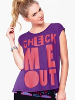 Check Me Out Printed T-shirt