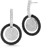Alor 18k Diamond Pavé Circle Drop Earrings