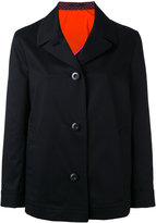 Paul Smith trench style jacket - women - Cotton/Spandex/Elastane/Cupro - 40