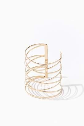 Forever 21 Crisscross Bracelet Cuff