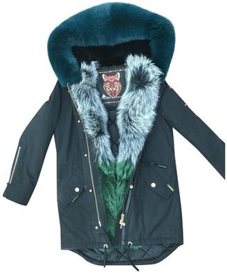 Moose Knuckles Black Cotton Coat for Women