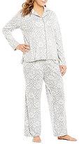 Cabernet Plus Brocade Pajamas
