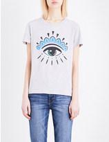 Kenzo Eye-print cotton-jersey t-shirt