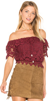 Winston White Farrah Top in Burgundy. - size XS (also in )