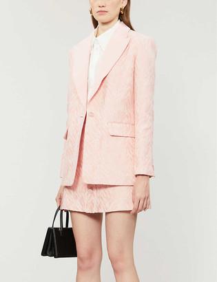 Sandro Zebrey cotton-blend blazer