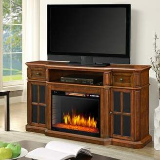 Muskoka Sinclair TV Stand for TVs up to 65 inches with Fireplace Included Muskoka