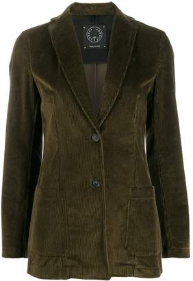T Jacket fitted corduroy jacket