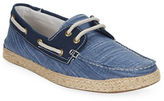 GBX Dore Two Eye Checked Boat Shoes