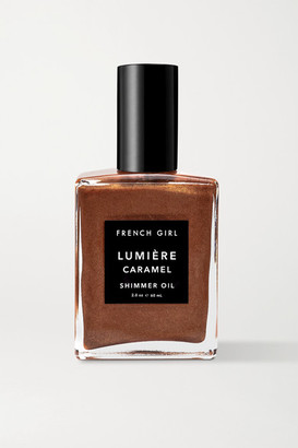 French Girl Lumiere Caramel Shimmer Oil, 60ml