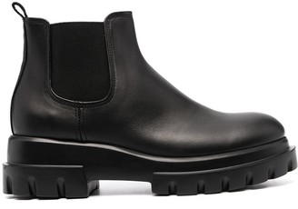 AGL Chunky Sole Ankle Boots