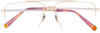 Brioni Classic Square Glasses