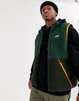 Nike winter sherpa vest in khaki