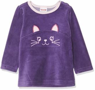 Schnizler Baby Girls' Sweat-Shirt Nicki Katze Sweatshirt