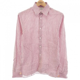 Acne Studios Red Linen Shirts