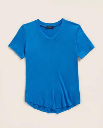 Terez Girls 7-16) Dark Blue Solid Short Sleeve Tee