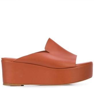 Tibi Dimitri platform sandals