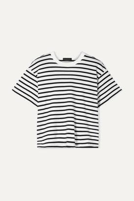 ATM Anthony Thomas Melillo Boy Striped Cotton-jersey T-shirt