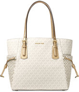 MICHAEL Michael Kors Signature Voyager East/West Signature Tote