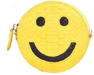 Gelareh Mizrahi Smiley Wallet in Yellow