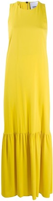 Erika Cavallini Kira flared maxi dress