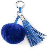 Juicy Couture Pom-Pom Stud Key Chain