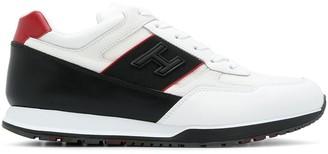 Hogan Contrast Panel Sneakers