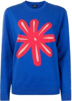 Thumbnail for your product : Paul Smith Graphic-Print Crewneck Sweatshirt