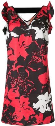 No.21 Floral Print Sleeveless Dress