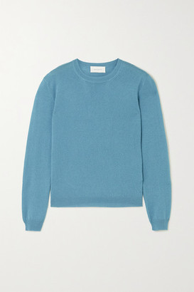 ALEXANDRA GOLOVANOFF Kawai Cashmere And Silk-blend Sweater - Blue