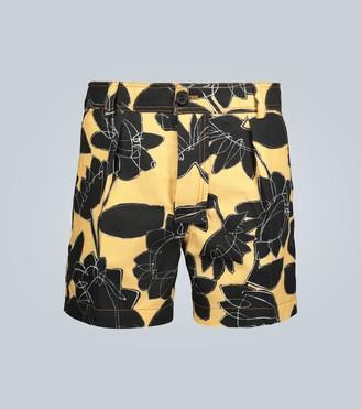 Jacquemus Le Short Tennis floral shorts
