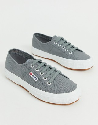 Superga Cotu Classic 2750 gray canvas sneakers