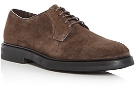 a. testoni A.Testoni Men's Suede Derby Shoes