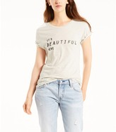 Levi's Short-Sleeved Printed Cotton T-shirt