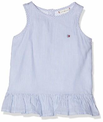 Tommy Hilfiger Baby Girls' Endearing Stripe Top Slvls Vest