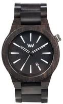 WeWood Men's Assunt Wood Bracelet Watch, 46Mm
