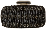 Oscar de la Renta Goa Leather Clutch Handbags