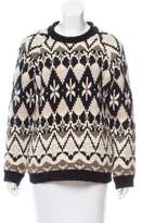Yigal Azrouel Oversize Crew Neck Sweater