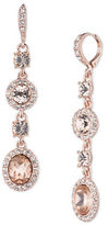 Givenchy Crystal Studded Drop Earrings