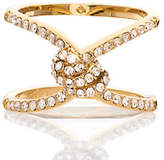 Kate Spade Infinity & beyond pave knot ring