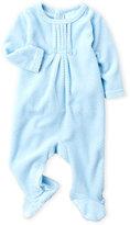 baby dove (Newborn Boys) Diamond Quilted Velour Footie